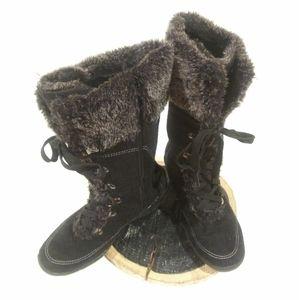 Winter Wedge Boot